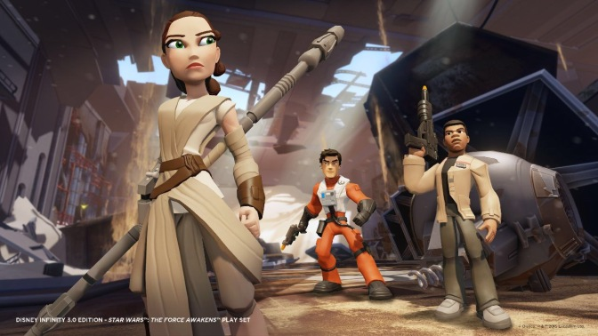 Star Wars: The Force Awakens Playset Gets An Awesome Poster
